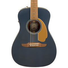 Fender Acoustic Guitars - Malibu Player - Midnight Satin - Front Close