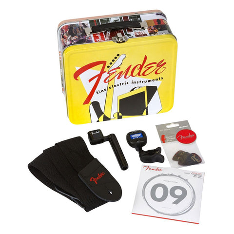 Fender - Vintage Catalog Lunch Box w/Accessories