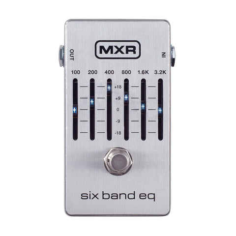 MXR Effect Pedals - 6 -Band Graphic EQ