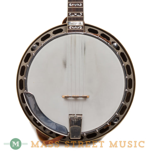 Gibson Plectrums - 1933 PB4 Flat Head 5-String Conversion Banjo Close