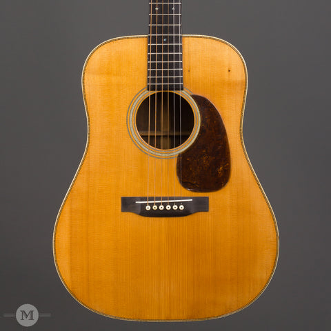 Martin Acoustic Guitars - 1935 D-28 - Front Close