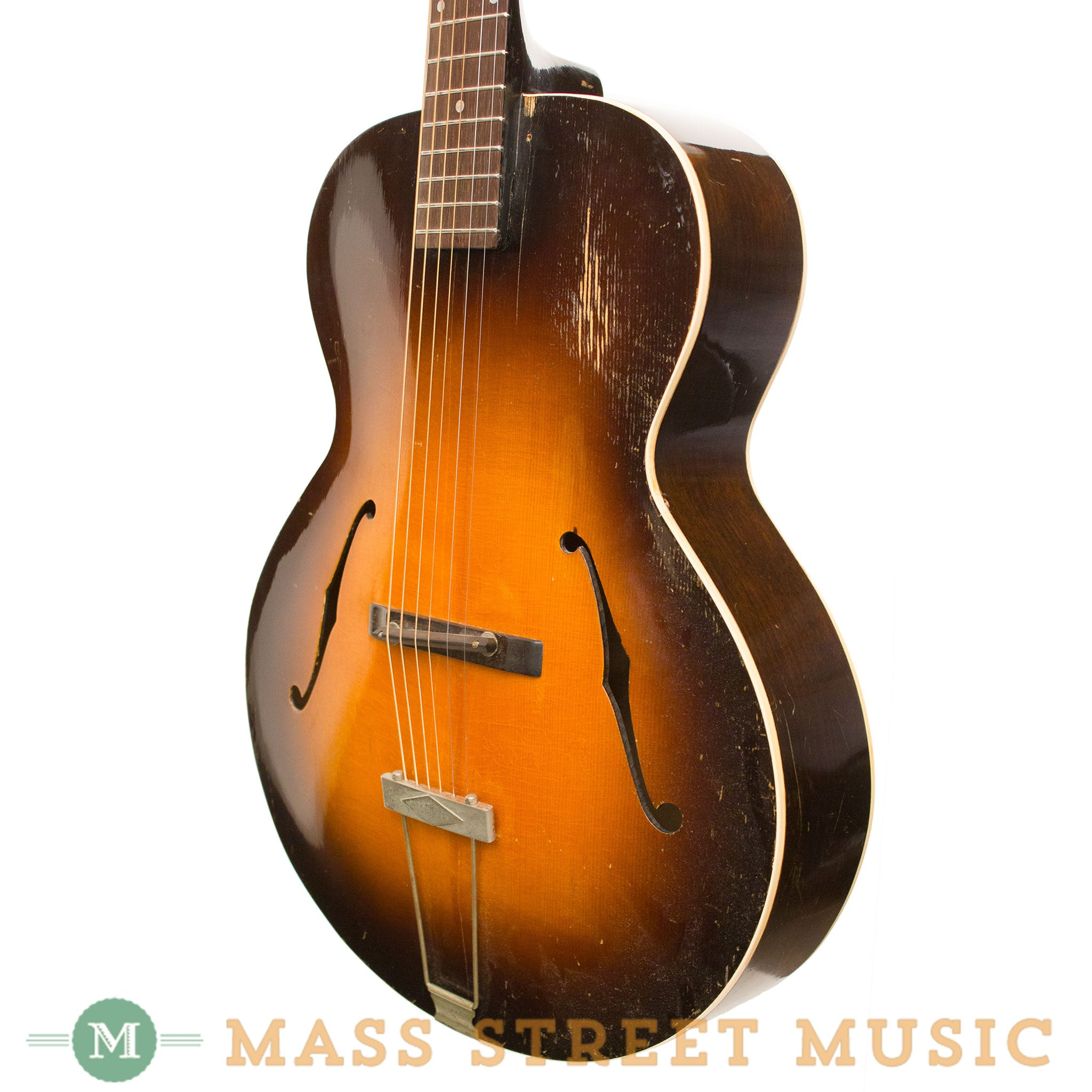 gibson acoustic guitars 1936 l 50 archtop used mass street music store. Black Bedroom Furniture Sets. Home Design Ideas