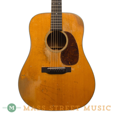 Martin Acoustic Guitars - 1939 D-18 73525 - Front Close