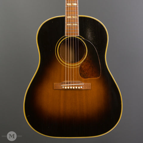 Gibson Acoustic Guitars - 1952 SJ Sunburst - Front Close