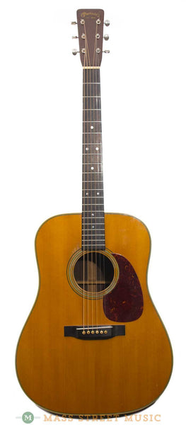 vintage 1953 martin d 28 acoustic with later 50s hard case mass street music store. Black Bedroom Furniture Sets. Home Design Ideas