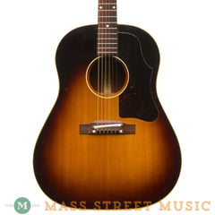 Gibson Acoustic Guitars -1959 J-45 Adj. Bridge - Front Close