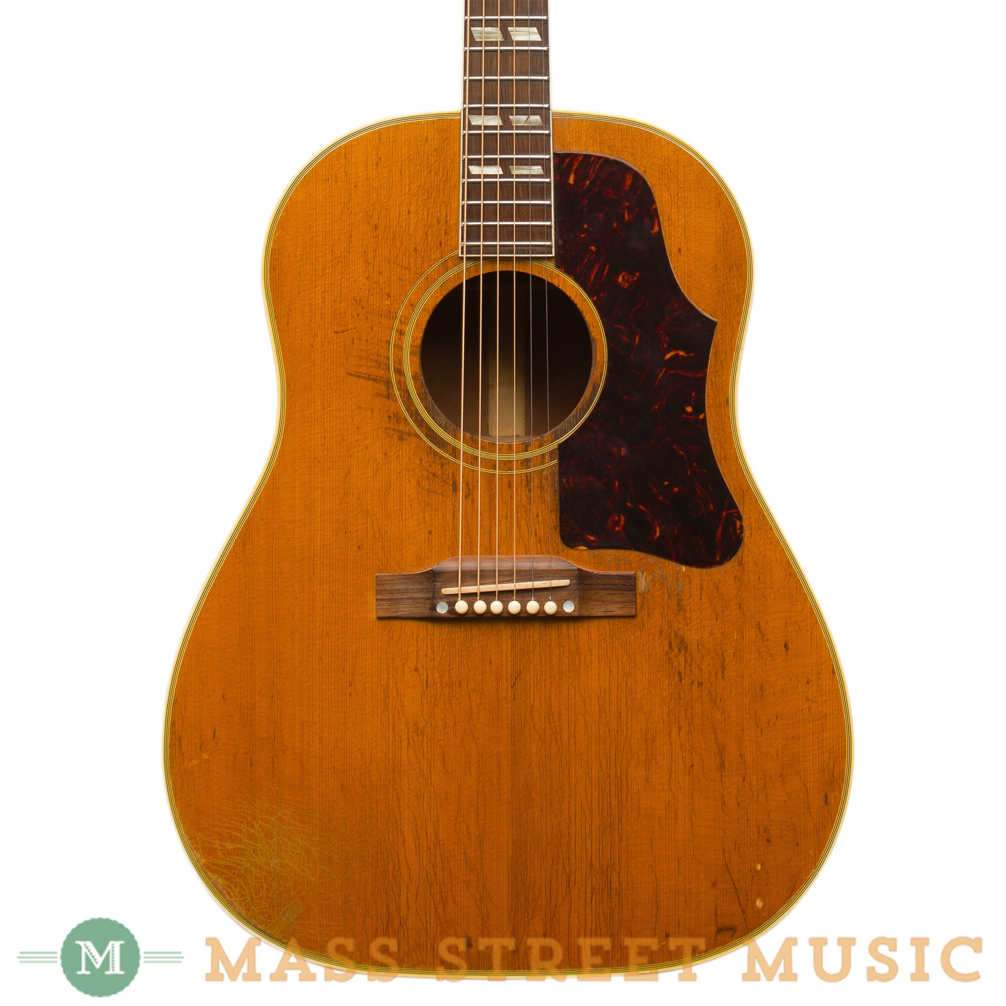 gibson acoustic guitars 1959 sjn country western jumbo used mass street music store. Black Bedroom Furniture Sets. Home Design Ideas