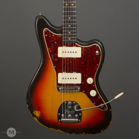 Fender Guitars - 1964 Jazzmaster Sunburst - Used - Front Close