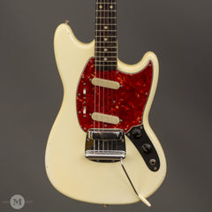 Fender Electric Guitars - 1964 Mustang - Olympic White