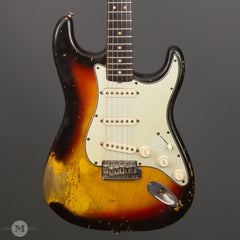 Fender Guitars - 1964 Stratocaster Burst - Used - Front Close