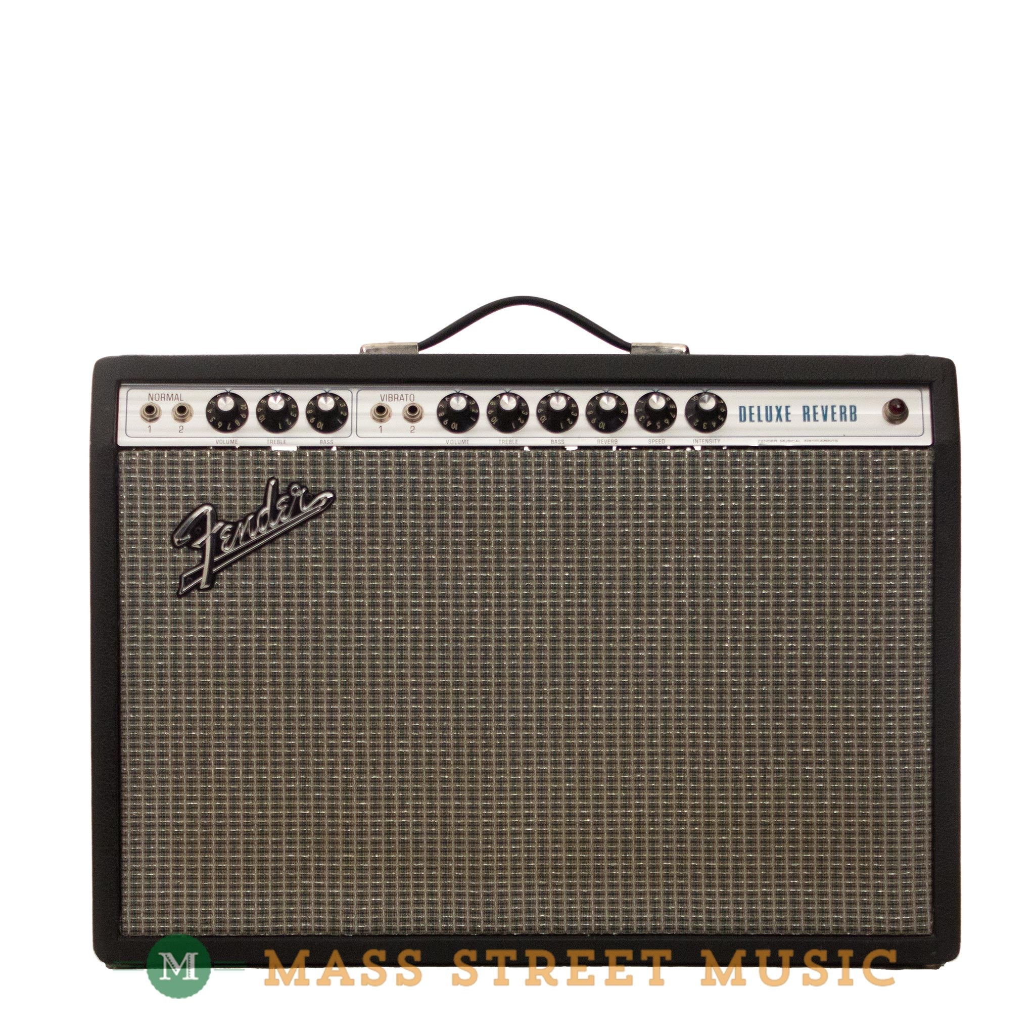 fender amps 1973 deluxe reverb combo mass street music store. Black Bedroom Furniture Sets. Home Design Ideas