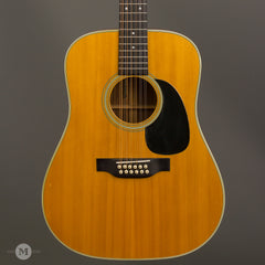 Martin Acoustic Guitars - 1974 D12-28 - Used - Front Close