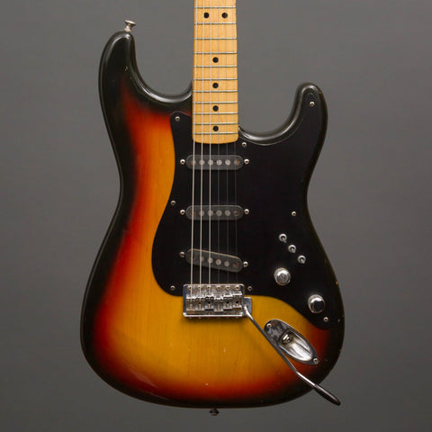 Fender Electric Guitars - 1974 Stratocaster - Burst - Used