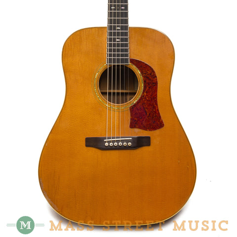Mossman Acoustic Guitars - Timber Creek 1976 Front Close