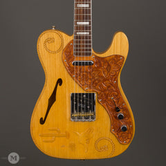 Fender Guitars - 1993 Custom Shop La Riata Guitar Center 29th Anniversary Tele - Front Close