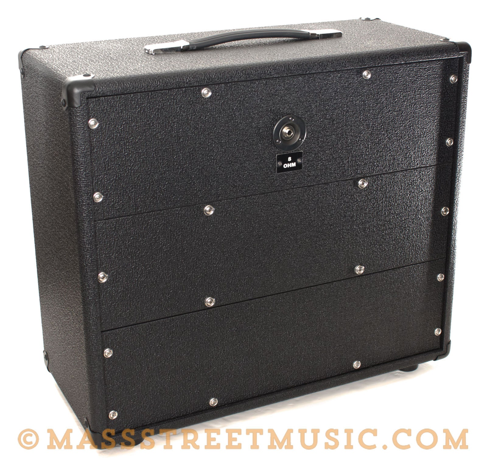 Dr Z 1x12 Cab Salt Pepper Guitar Amplifier Mass Street Music Store Wiring Cabinet Back Angle