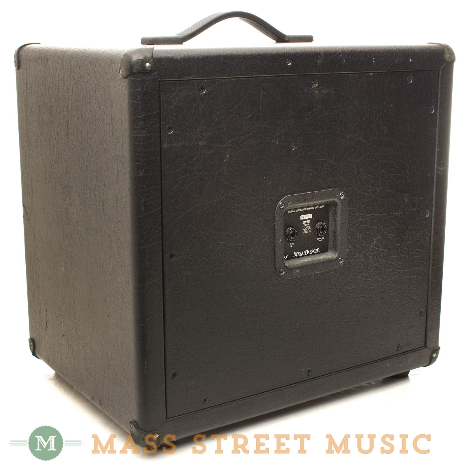 Mesa Boogie 1x12 Thiele Guitar Cab W Celestion C90 Speaker Mass Wiring Cabinet With Back Angle