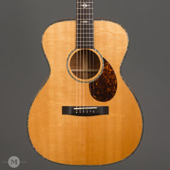 Huss & Dalton Guitars - 2000 OM Custom Koa - Used - Front Close