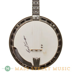 Gibson Banjos - 2001 Earl Scruggs Standard Mastertone Resonator Banjo Used - Front Close