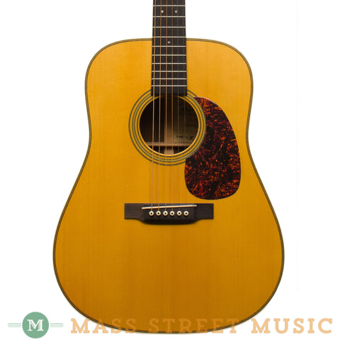 Martin Acoustic Guitars - 2004 D-28 Marquis Used - Front Close