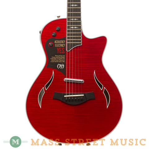 Taylor Electric Guitars - 2014 T5z Pro - Borrego Red Used - Front