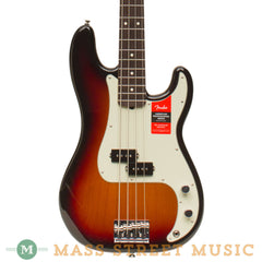 Fender Basses - 2017 American Professional Precision Bass - Burst - Front Close