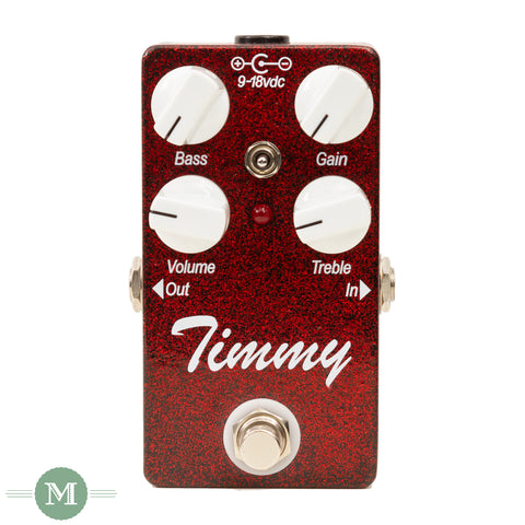 Paul Cochrane Effect Pedals - Timmy - Custom Red