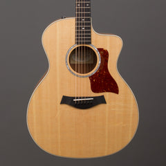 Taylor Acoustic Guitars - 214ce-FS Deluxe Figured Sapele Special Edition - Front Close