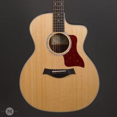 Taylor Acoustic Guitars - 214ce Deluxe - Natural - Front Close