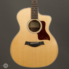 Taylor Acoustic Guitars - 214CE Deluxe - Satin - Front Close