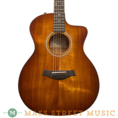 Taylor Acoustic Guitars - 224CE Deluxe - Prototype Koa SB - Front Close