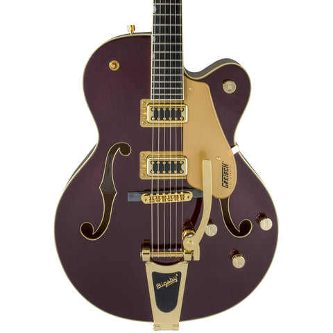 Gretsch Electric Guitars - G5420TG 135th Anniversary Electromatic Limited - Dark Cherry Metallic/Casino Gold - Front