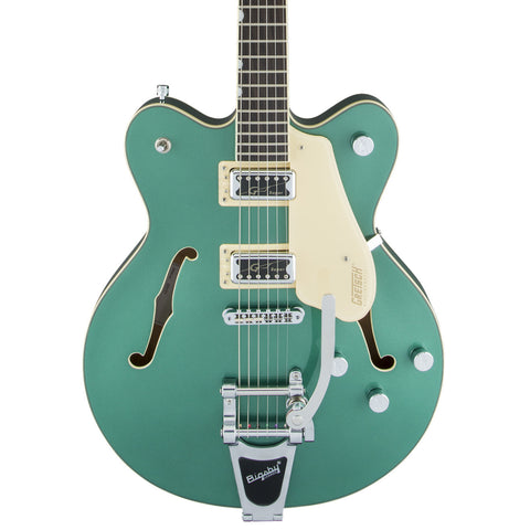 Gretsch Electric Guitars - G5622T Electromatic Center Block w/Bigsby - Georgia Green - Front Close