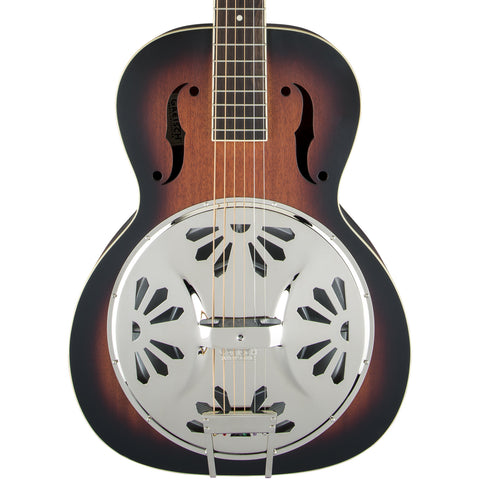 Gretsch Resonators - G9220 Bobtail Round-Neck with Pickup - Sunburst
