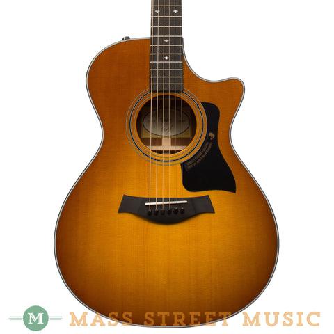 Taylor Acoustic Guitars - 312CE LTD Honey Sunburst - Front Close
