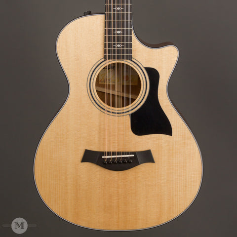 Taylor Acoustic Guitars - 352ce 12-String V-Class - Front Close