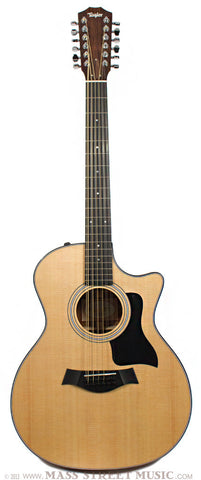 Taylor 354ce 12-string front photo