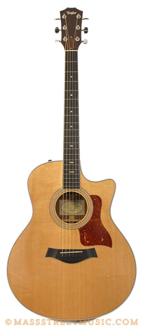 Taylor 416ce Used Acoustic Guitar - front