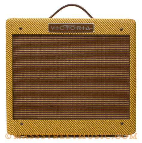 Victoria 518-T Used Combo Amplifier - front
