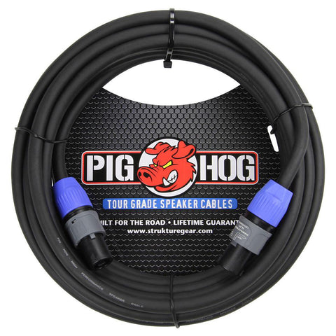Pig Hog Cables - 50' Speaker Cable - Speakon ends