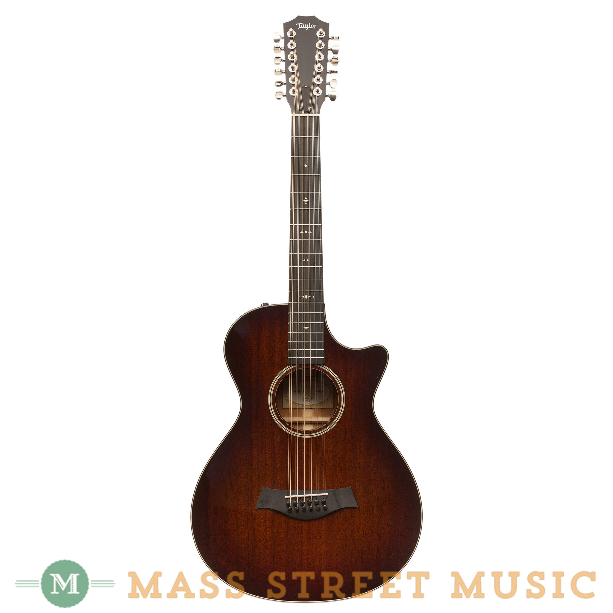 taylor acoustic guitars 562ce 12 string 12 fret mass street music store. Black Bedroom Furniture Sets. Home Design Ideas