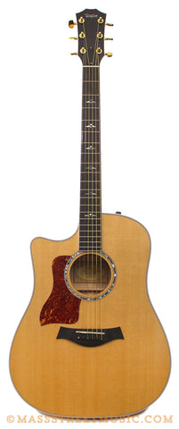 Taylor 610ce Left-Handed Acoustic Guitar - front