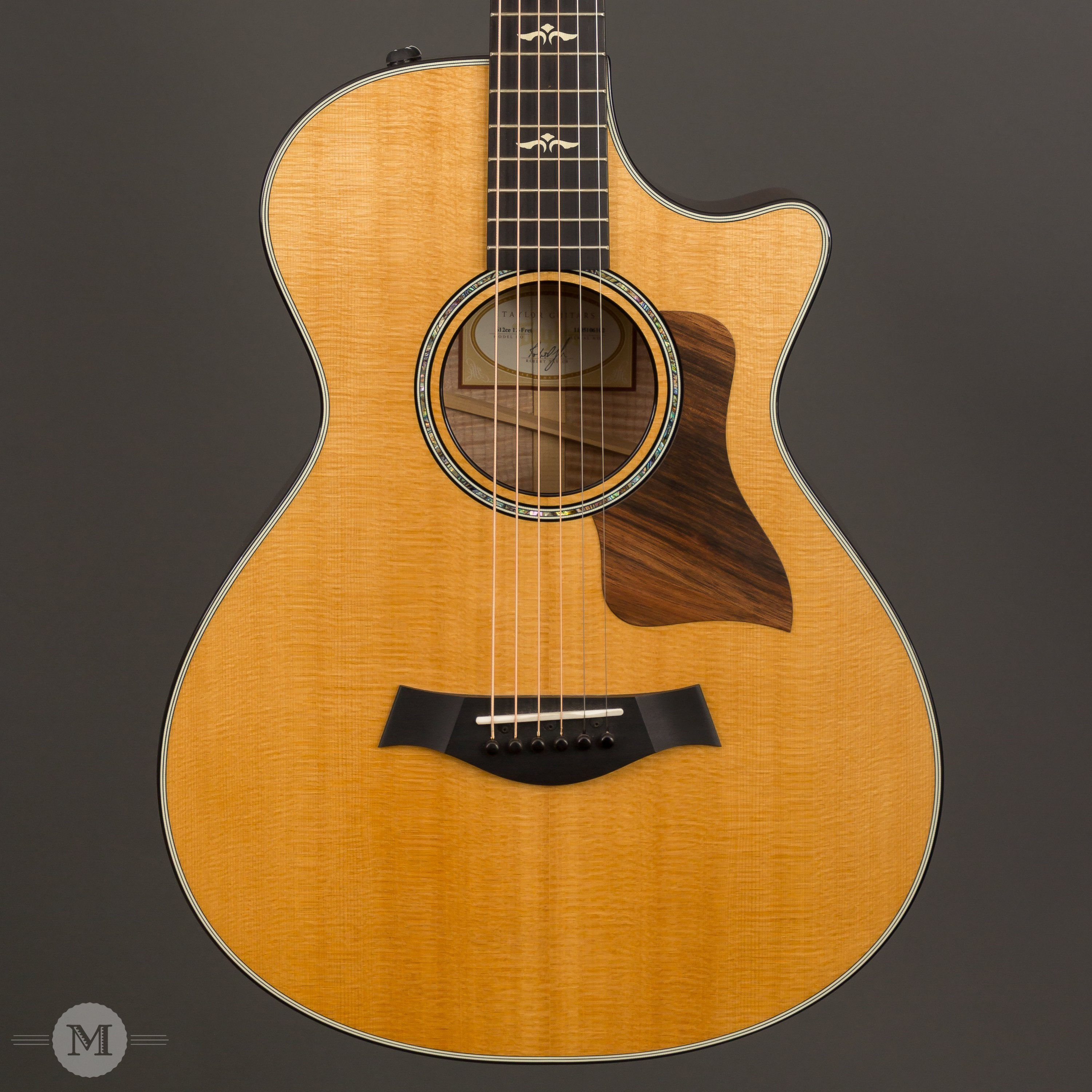 Taylor Acoustic Guitars - 612ce 12-Fret Grand Concert