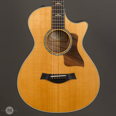 Taylor Acoustic Guitars - 612ce 12-Fret Grand Concert - Front Close