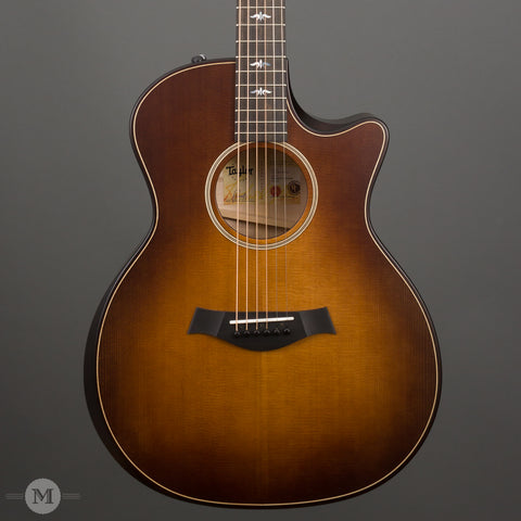 Taylor Acoustic Guitars - 614ce Builder's Edition - Wild Honey Burst - Front Close