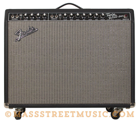 Fender Reissue Twin Reverb Guitar Amp - front