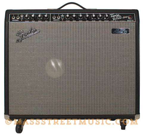 Fender '65 Twin Reissue Custom 15 Guitar Amp - front