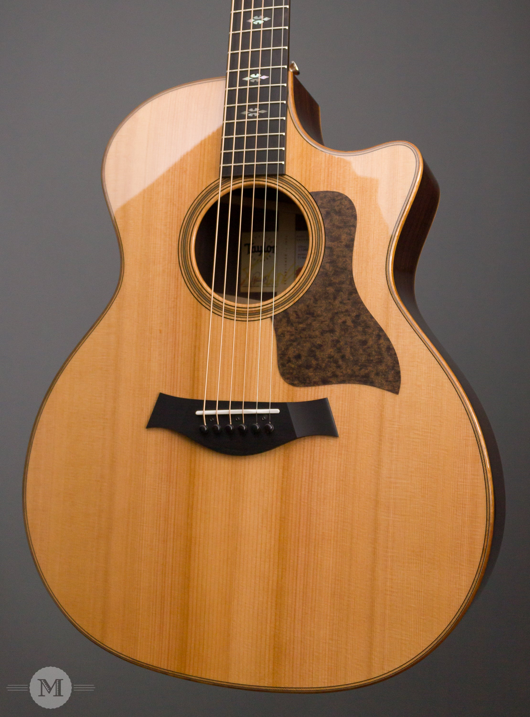 taylor acoustic guitars 714ce v class cedar top mass street music store. Black Bedroom Furniture Sets. Home Design Ideas