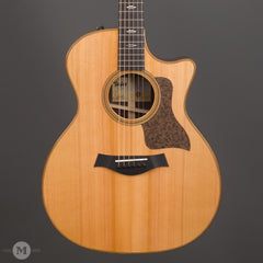 Taylor Acoustic Guitars - 714ce V-Class Cedar Top - Front Close
