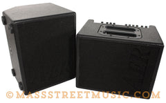 AER Compact 60/2 Acoustic Amp with Monitor - front both